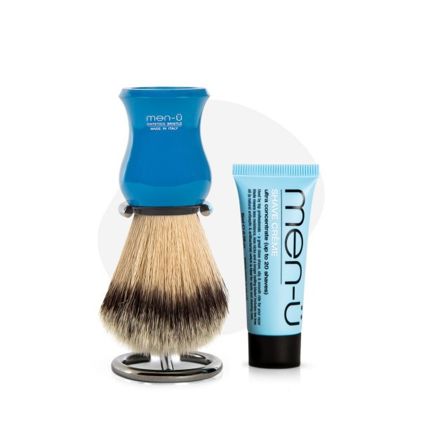 Premier Shaving Brush (Blue)