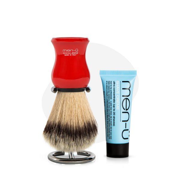 Premier Shaving Brush (Red)