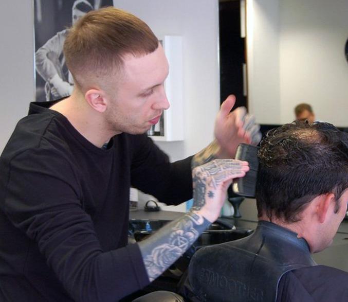 Habia trained stylist