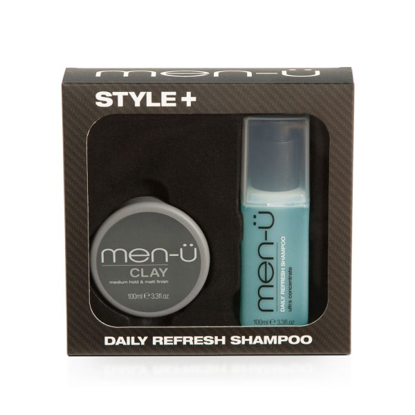 Style+ Daily Refresh Shampoo (Clay)