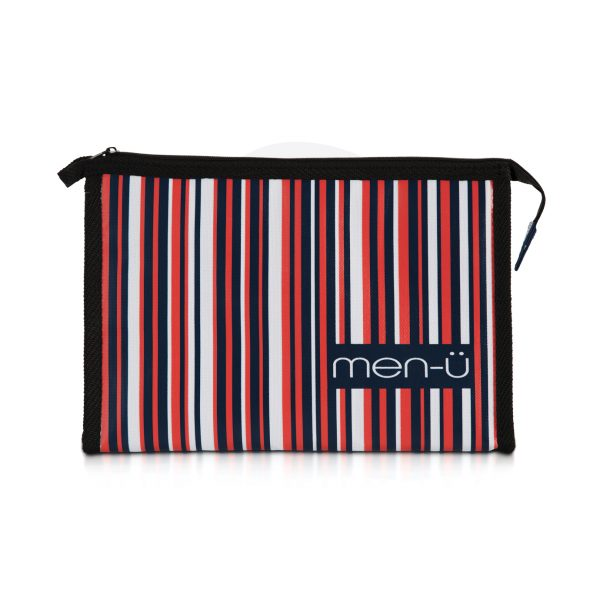 Stripes Toiletry Bag
