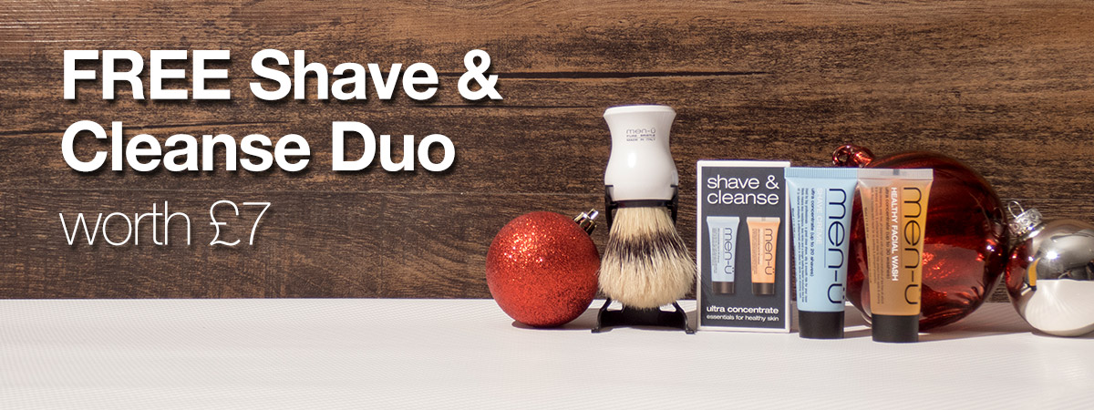 FREE Shave & Cleanse Duo (worth £7)